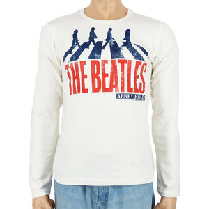 The Beatles - Abbey Road - Wit Longsleeve shirt