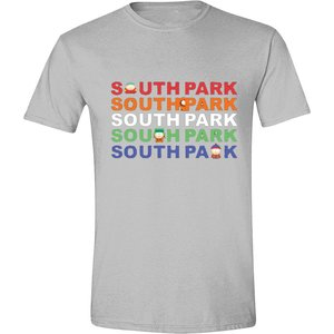 SOUTH PARK - GROUP LOGO MEN T-SHIRT