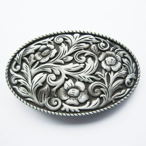 Cowgirl Flower Western Vintage Riem Buckle/Gesp