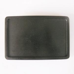 Blanco Vintage black( Graveer je eigen tekst ) Riem Buckle/Gesp