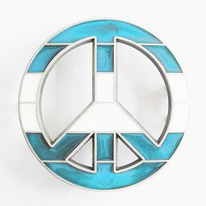Peace - Teken - Argentinie - Riem Buckle/Gesp