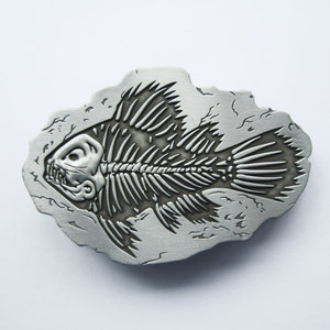 Vintage - Visgraten - Fossiele Gesp