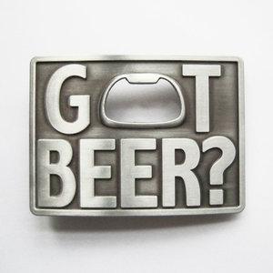 Flesopener Got Beer geborsteld Riem Buckle/Gesp