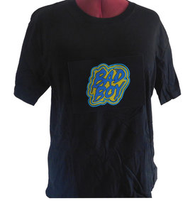 LED  T-Shirt- Bad boy - Easy Fit - Black