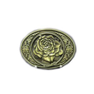 Bronze Roos Riem Buckle/Gesp