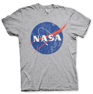 NASA WASHED INSIGNIA T-SHIRT- EASY FIT - Zwart