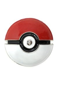 Pokemon Pokeball 3d Metal Riem Gesp/Buckle