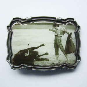 Matador Bullfighter Metal Riem Gesp/Buckle