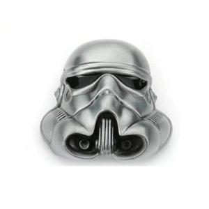 Star Wars Stromtrooper Helm  Gesp in Geborsteld Metal Riem Gesp/Buckle
