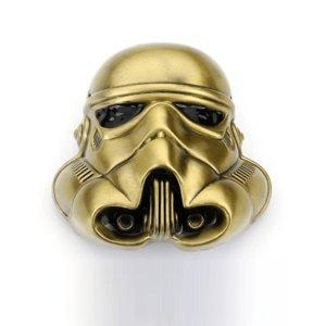 Star Wars Stromtrooper Helm  Gesp in brons kleurig Metal Riem Gesp/Buckle