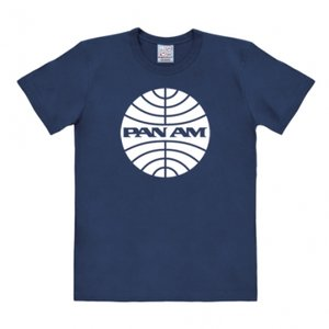 Pan Am - T-Shirt Easy Fit - navy